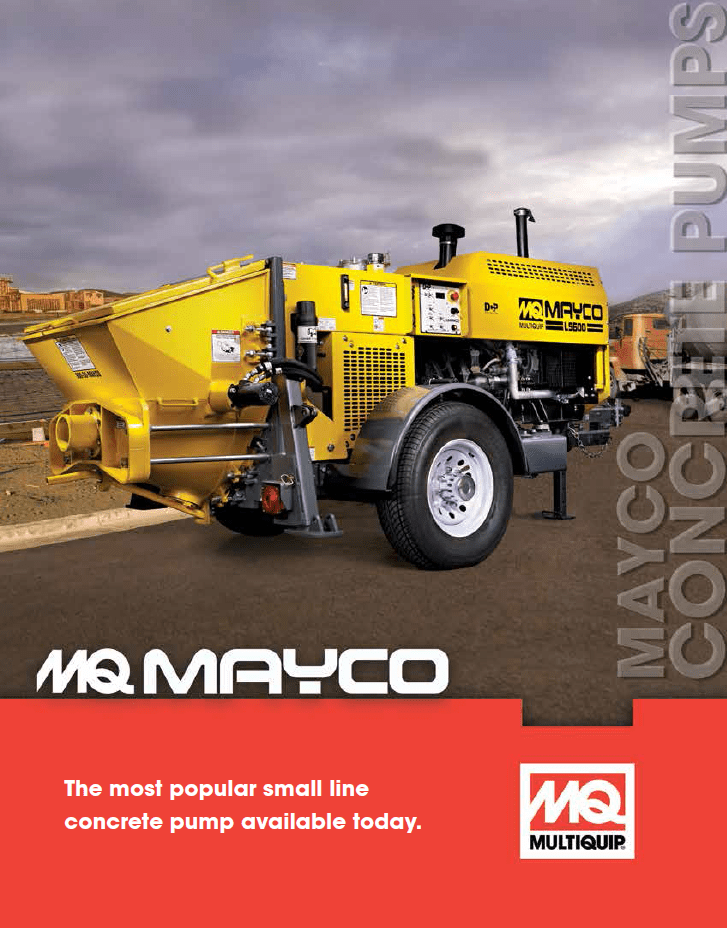 Mayco Concrete Pump