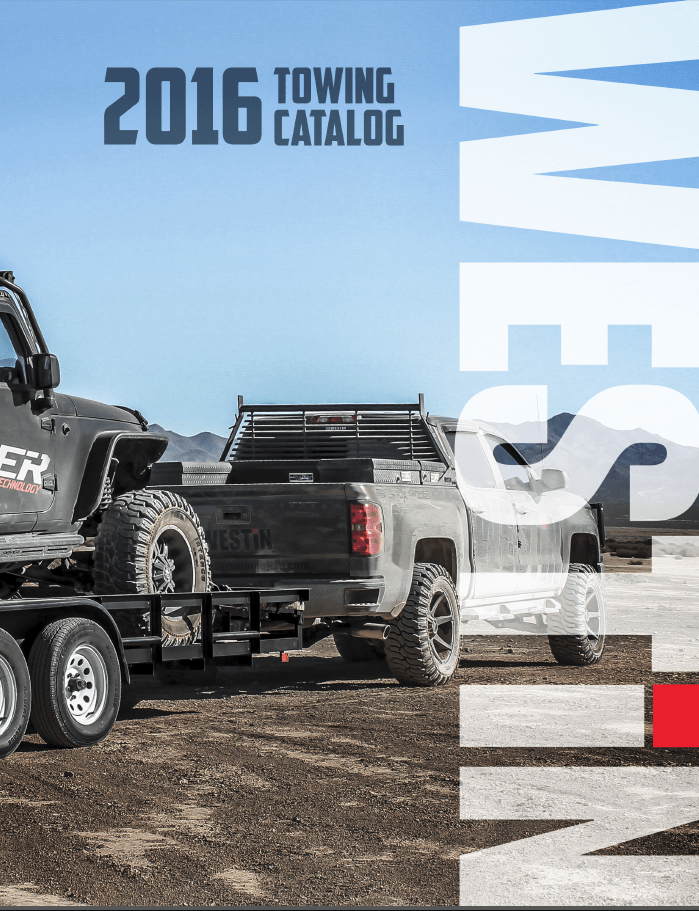Towing & Electrical Catalog 2014